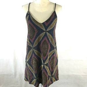 Voom by Joy Han Retro 70's Style Dress size Small